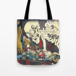 Utagawa Kuniyoshi Takiyasha The Witch Tote Bag
