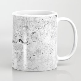 Houston Texas USA - High resolution satellite view of Earth from Space - Black and white Coffee Mug