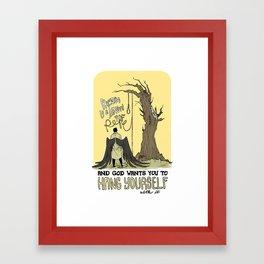 It's Simple Framed Art Print