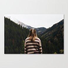 Eyes Forward Canvas Print
