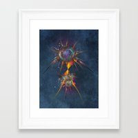 dreamcatcher Framed Art Prints featuring Dreamcatcher by jbjart
