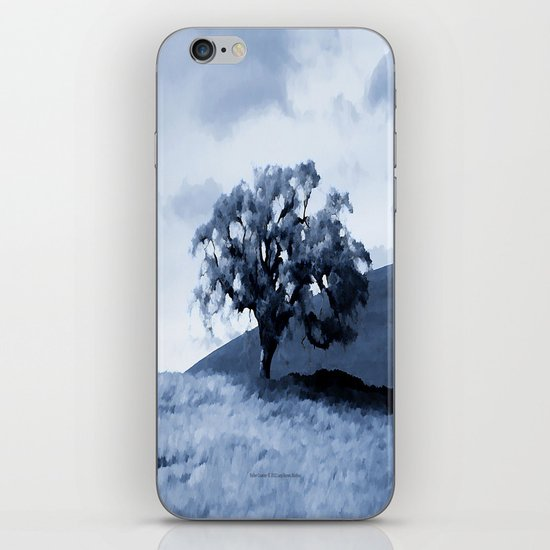 Vallecitos Road Oak Tree 005 iPhone & iPod Skin
