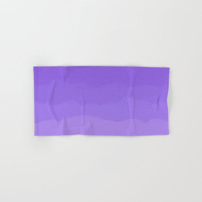 Dreamy Purple Fluff Hand & Bath Towel