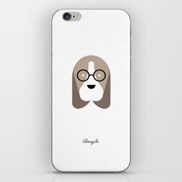 Pedigree: Beagle iPhone Skin