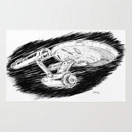 USS Enterprise Rug