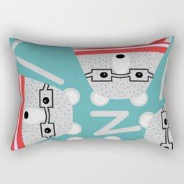 Bear circle Rectangular Pillow