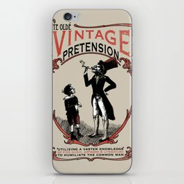 Ye Oldé Vintage Pretension iPhone Skin