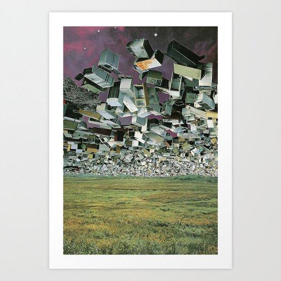 Hover Wall II Art Print
