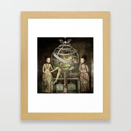 sCiEnCe aNd fiCtiOn Framed Art Print