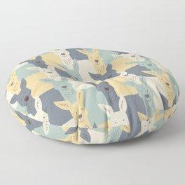 Kangaroos Floor Pillow