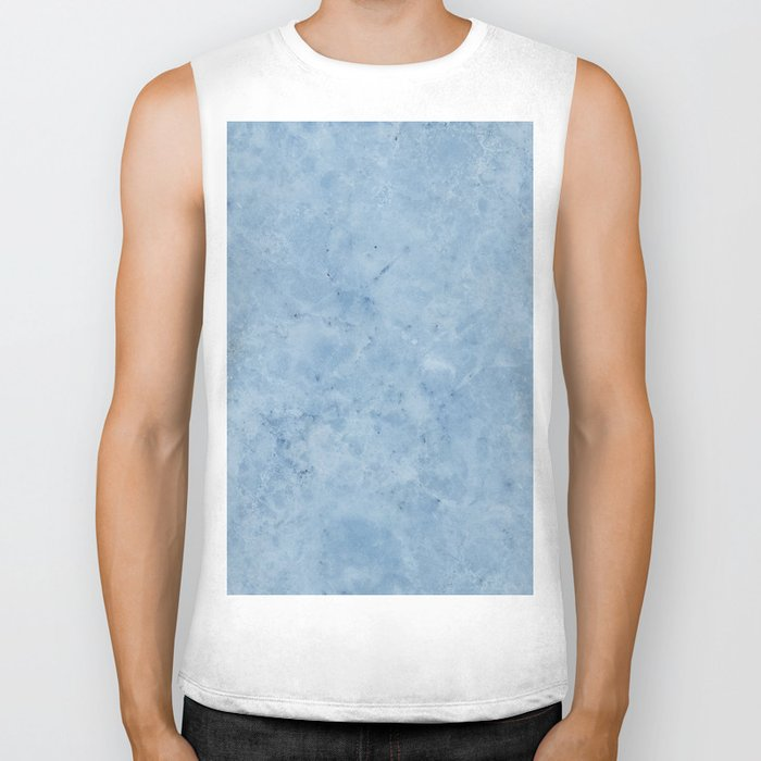 Lento blue marble Biker Tank