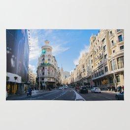 Gran Via Madrid Rug
