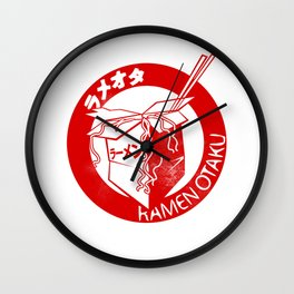 This Is My Ramen Shirt Wall Clock