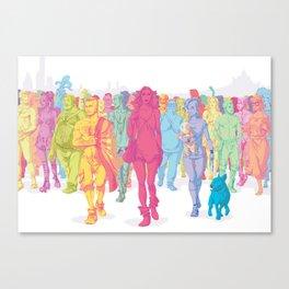 Quarto Stato Canvas Print