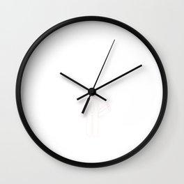 Good At Laying Pipe T-shirt Funny Construction T-shirt Wall Clock