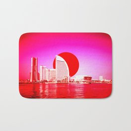 Modern Japan - Yokohama Bath Mat