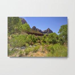 The Watchman 4739 - Zion National Park, Utah Metal Print