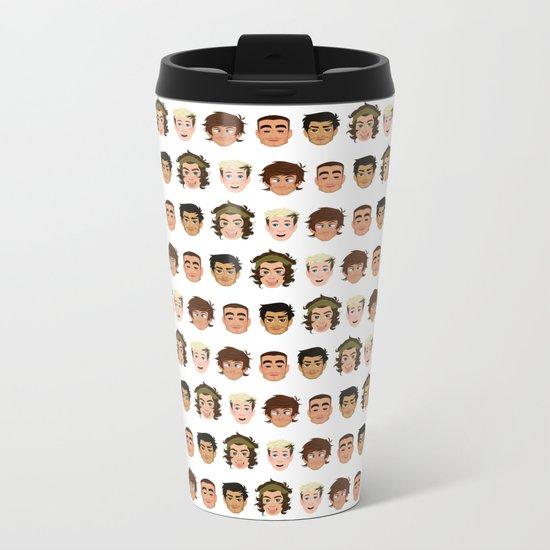 One Direction Metal Travel Mug