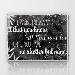The Darkling Quote - Grisha - Nikoli Laptop & iPad Skin