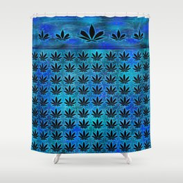 Indigo Indica Shower Curtain