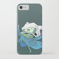 bmo iPhone & iPod Cases featuring BMO by RbMachado