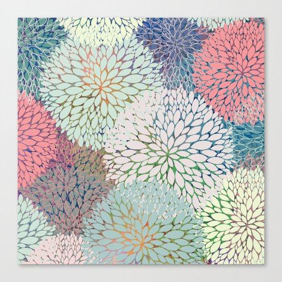 Abstract Floral Petals 3 Canvas Print