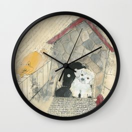Clearly Confused Wall Clock