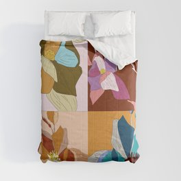 Bloom Floral Comforters