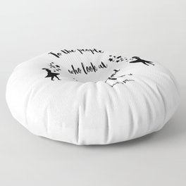 A Court of Mist and Fury Floor Pillow