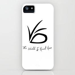 VFD - A Series of Unfortunate Events iPhone Case