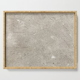 Concrete Wall Background Texture Serving Tray