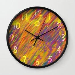 Hard Rain Wall Clock