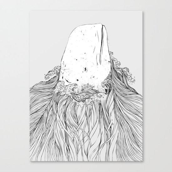 The White Whale Canvas Print