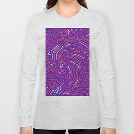 squiggle wiggles 003 Long Sleeve T-shirt