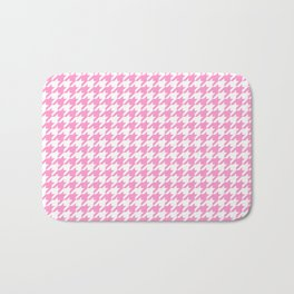 Rose Quartz Houndstooth Bath Mat