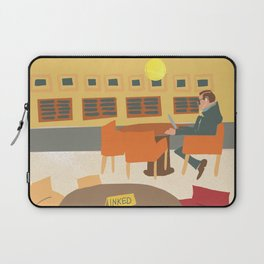 National Library of Australia: man in Newspaper Reading Room Laptop Sleeve