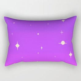 80's Cosmic Dream Rectangular Pillow