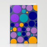 dots Stationery Cards featuring Dots by Aloke Design