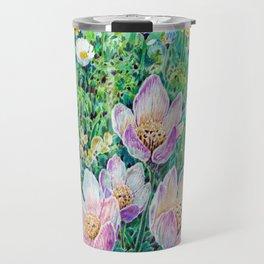 Flower study Travel Mug
