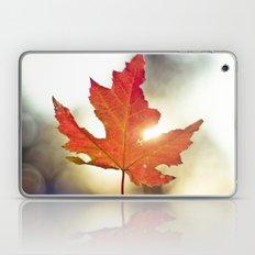 Leaf Falling in the Sky Laptop & iPad Skin