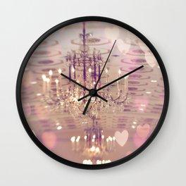 Mayflower Chandelier Wall Clock