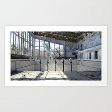 Chernobyl - басейн Art Print