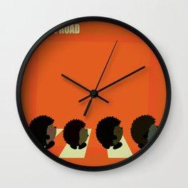 Hedgie road Wall Clock