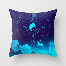 Sacred Geometry (Balance) Throw Pillow
