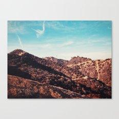 Runyon Canyon Canvas Print
