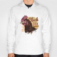 chicken Hoodies featuring Chicken by Superfan