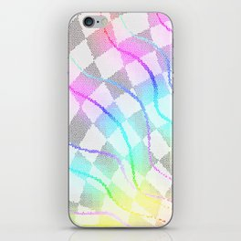 Fractured Colors iPhone Skin