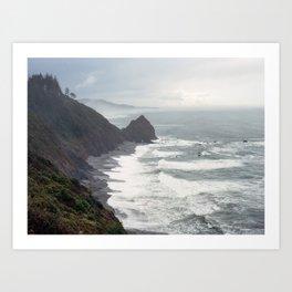 Wild Oregon Art Print