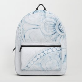 Flower Design Backpack