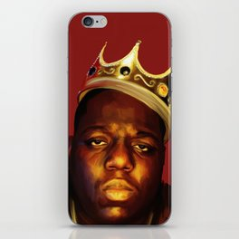 Biggie BIG Smalls iPhone Skin